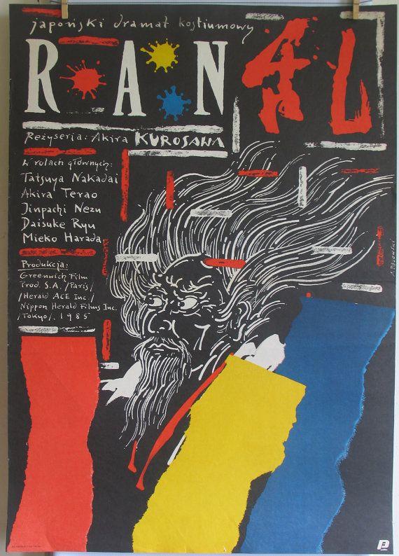 Ran  Japanese & French Co. 1985s film  dirAkira by artwardrobe, $99.99