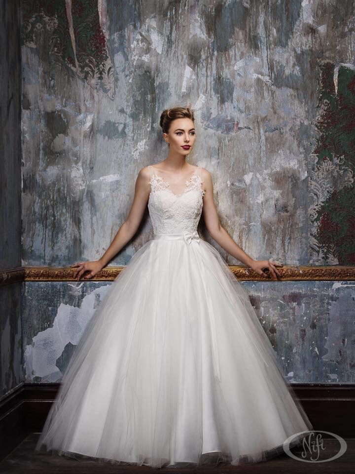 One of Australian designer Jack Sullivan's beautiful bridal gowns that we have in store!