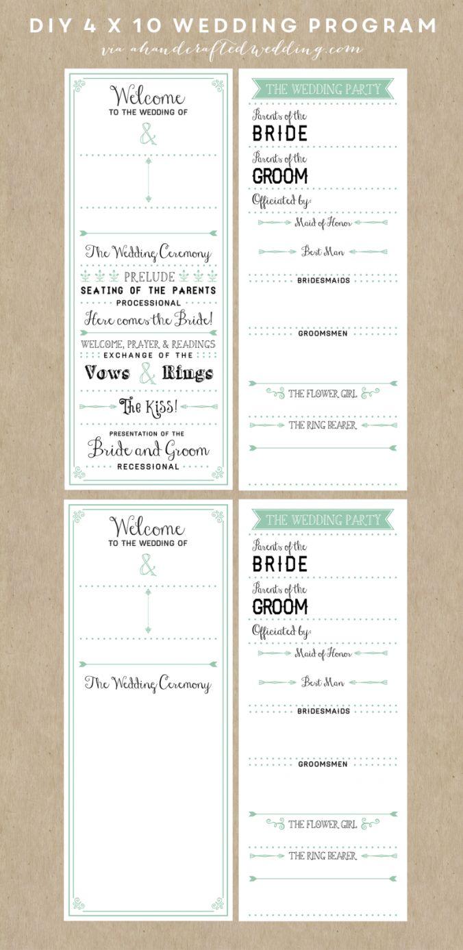wedding ceremony template sop example