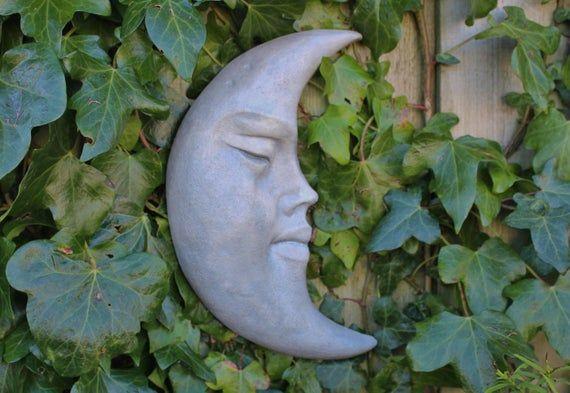 Stone Garden Statue Cornish Pixie on Mushroom Cornwall Stoneware ® Outdoor Gift
