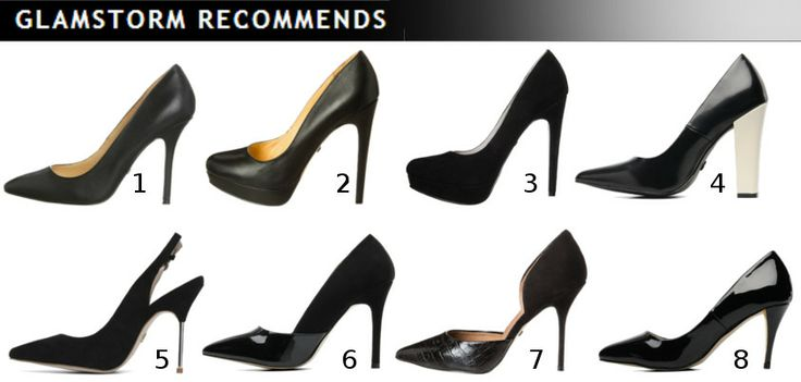 Black, classic pumps - for any occasion!   /Czarne, klasyczne szpilki - na kadą okazję!   1. Buffalo 2. Buffalo 3. Buffalo 4. Kurt Geiger 5. Kurt Geiger 6. I love shoes 7. Buffalo 8. I love shoes