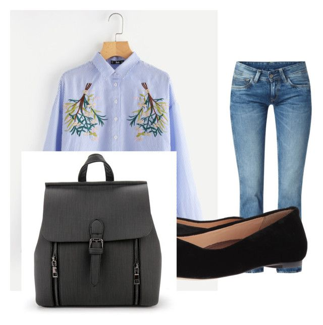 """july"" by maria-belen-aguirre on Polyvore featuring moda, Pepe Jeans London y Walking Cradles"