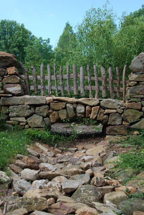 ,: Archer, Fence, Idea, Traditional Landscape, Hobbit Houses, Photo, Garden, Buchanan Architecture