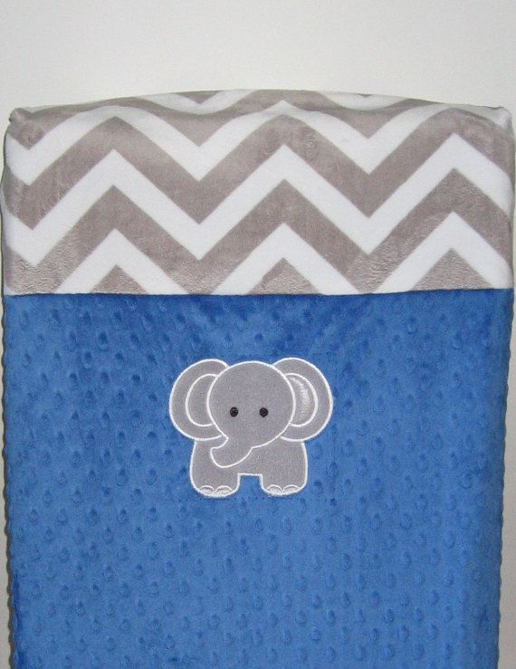 Changing Pad Cover, Elephant, Zoo, Minky, Minky Chevron, Safari, Nursing Pillow Cover, Breastfeeding, Baby Shower Gift, Nursery