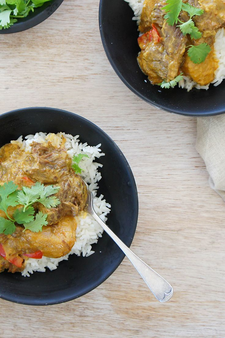 Slow Cooker Yellow Beef Curry by sriddle: A winter warming curry that'll please both omnivores and vegetarians!