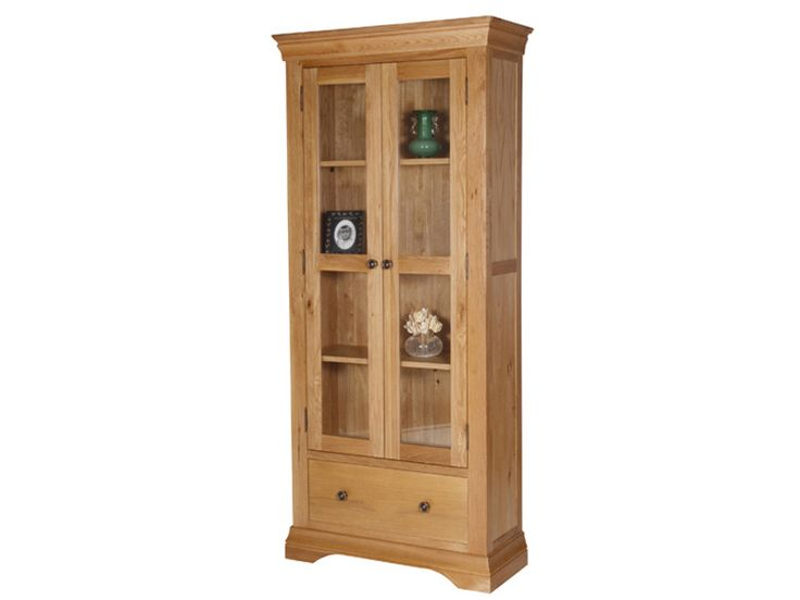 Bretagne Oak Display Cabinet Dining RoomDining