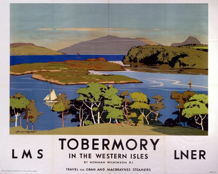SCOTLAND Tobermory, Isle of Mull, Western Isles - LMS, LNER.