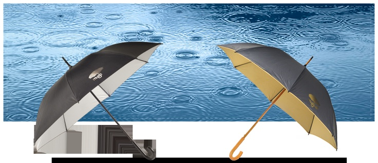 Maji Umbrellas...each Umbrella sold provides a day's worth of clean water for 20 people in the Horn of Africa.