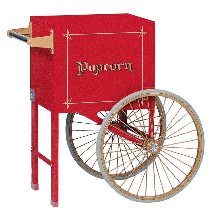 cart for 6 oz antique deluxe sixty popcorn machine stargate cinema