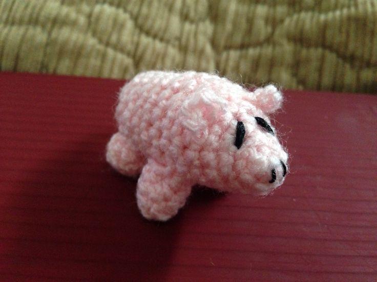 Micropig amigurumis crochet
