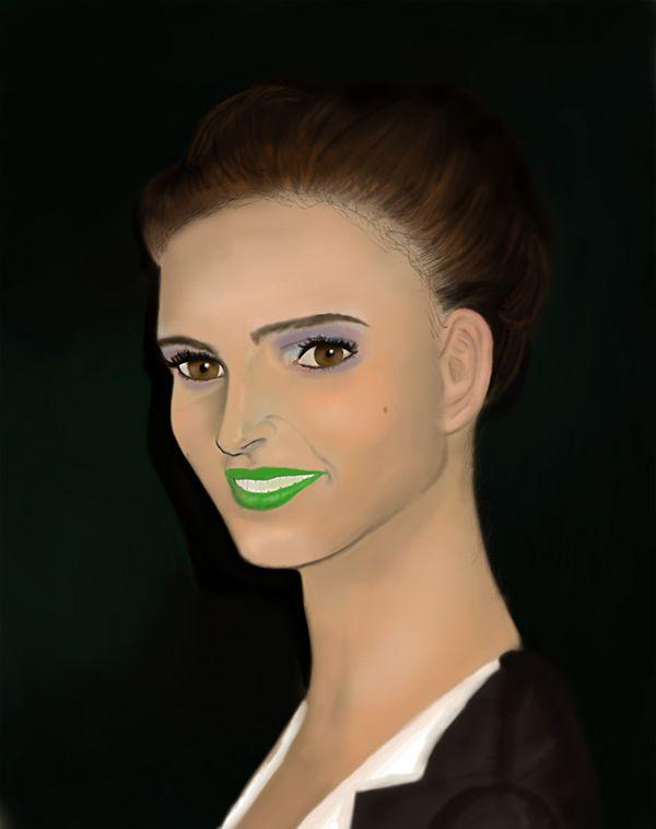 Natalie Portman Besos de Guason.