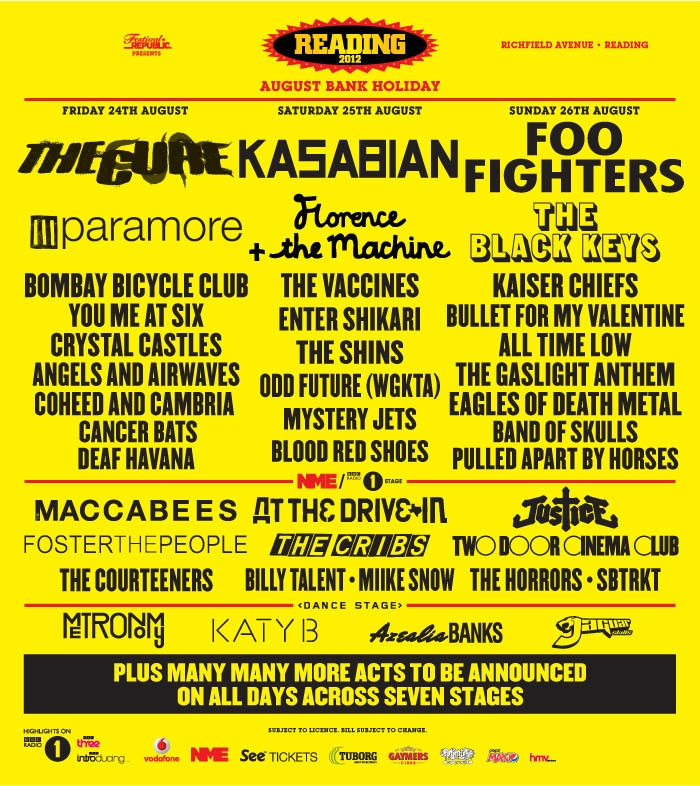 wanna know something stupid? this is in england. it has tons of my favorite bands.