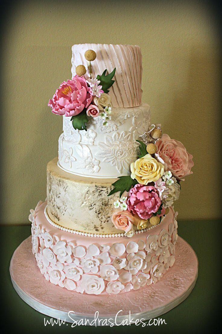 Round Wedding Cakes -