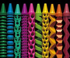 Amazing Carved Crayons by Pete Goldlust » Man Made DIY | Crafts