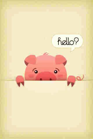 Pig Lock Screen Wallpaper