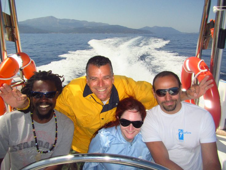 Travelling with BLUNATURA heading Symi