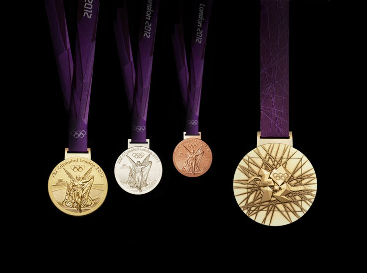 London Olympic Medals by David Watkins #design #olympic