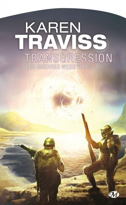 #CybookLecture de @mylordphoenix Transgression de Karen Traviss (T2 des guerres Wess'har)