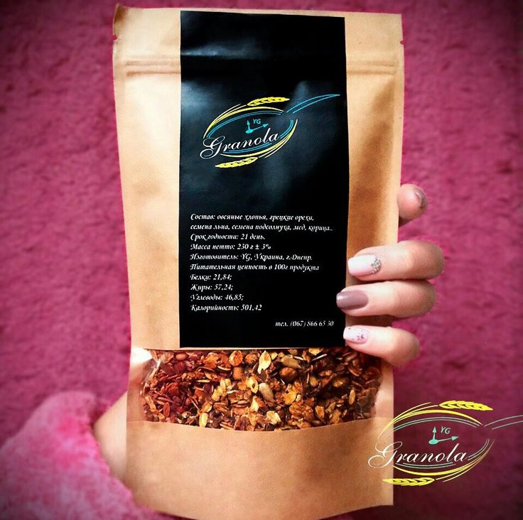 Вкуснейший и полезнейший завтрак из овсянки, сухофруктов и орехов 💪🏻