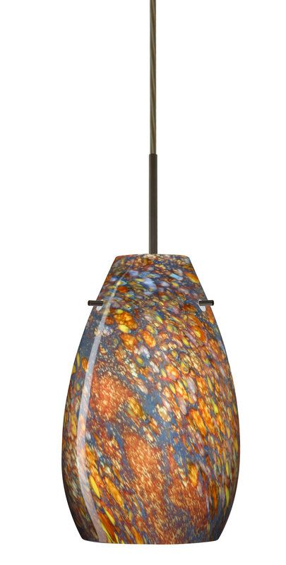 view the besa lighting pera 1 light led cordhung light ledglass forpendant
