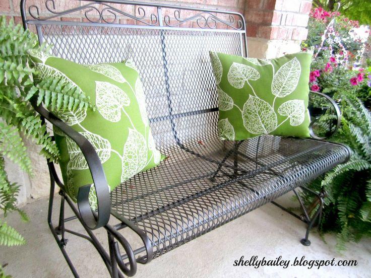 Shellyu0027s Creations: Refurbished Patio Furniture