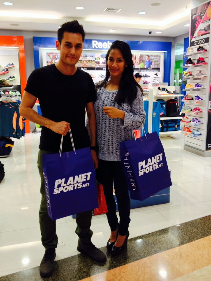 Spotted: Arifin Putra at Planet Sports.