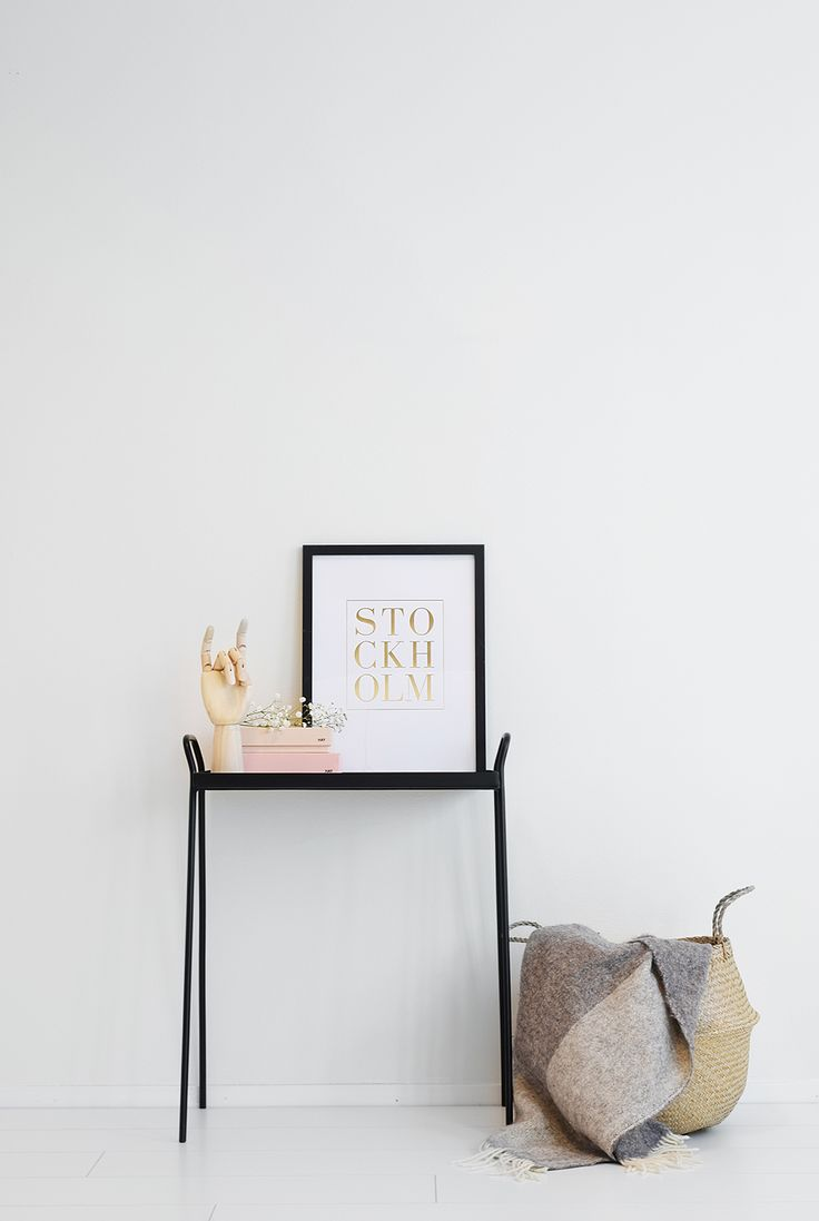 Gold poster STOCKHOLM from the new collection with amazing gold foil. Check it out at desenio.se
