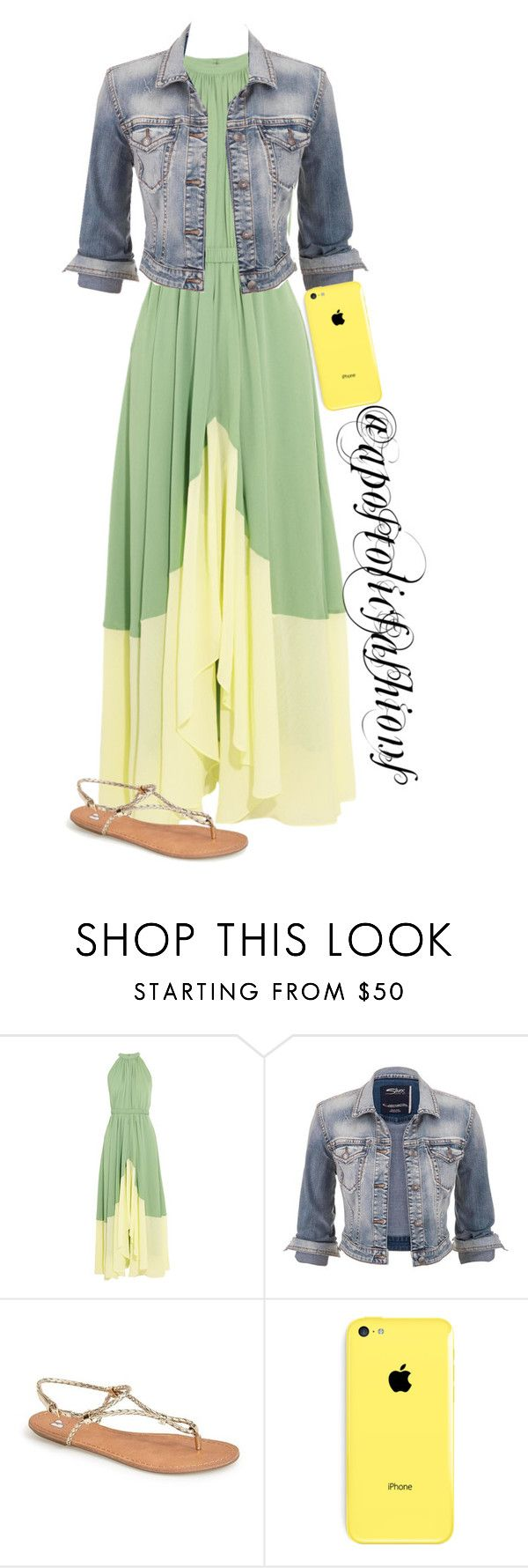 """""""Apostolic Fashions #1426"""" by apostolicfashions on Polyvore featuring Saloni, maurices and BP."""