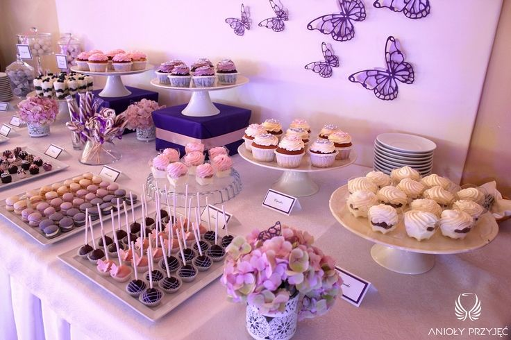 18. Butterfly Wedding,Sweet table decor   Butterfly decor,Sweets / Motylkowe wesele,Dekoracje słodkiego stołu,Motylkowe dekoracje,Słodkości,Anioły Przyjęć
