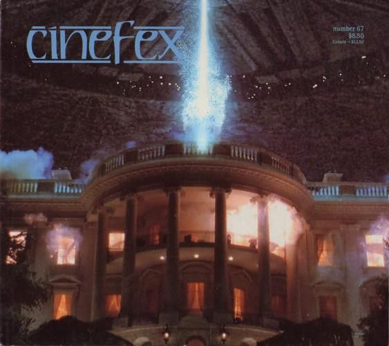 Cinefex 67 Independence Day Mission Impossible Multiplicity Hercules Escape from LA