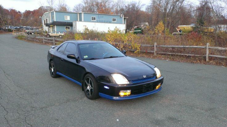 Modded 2001 Honda Prelude Blue Black