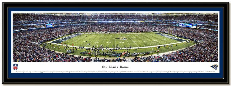 Edward Jones Dome panoramic photo Home of the Saint Louis Rams NFL football team Panoramic photo taken during the 2010 season