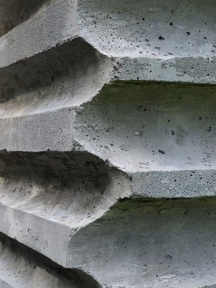 17 best images about concrete facade on pinterest for Refugi lieptgas