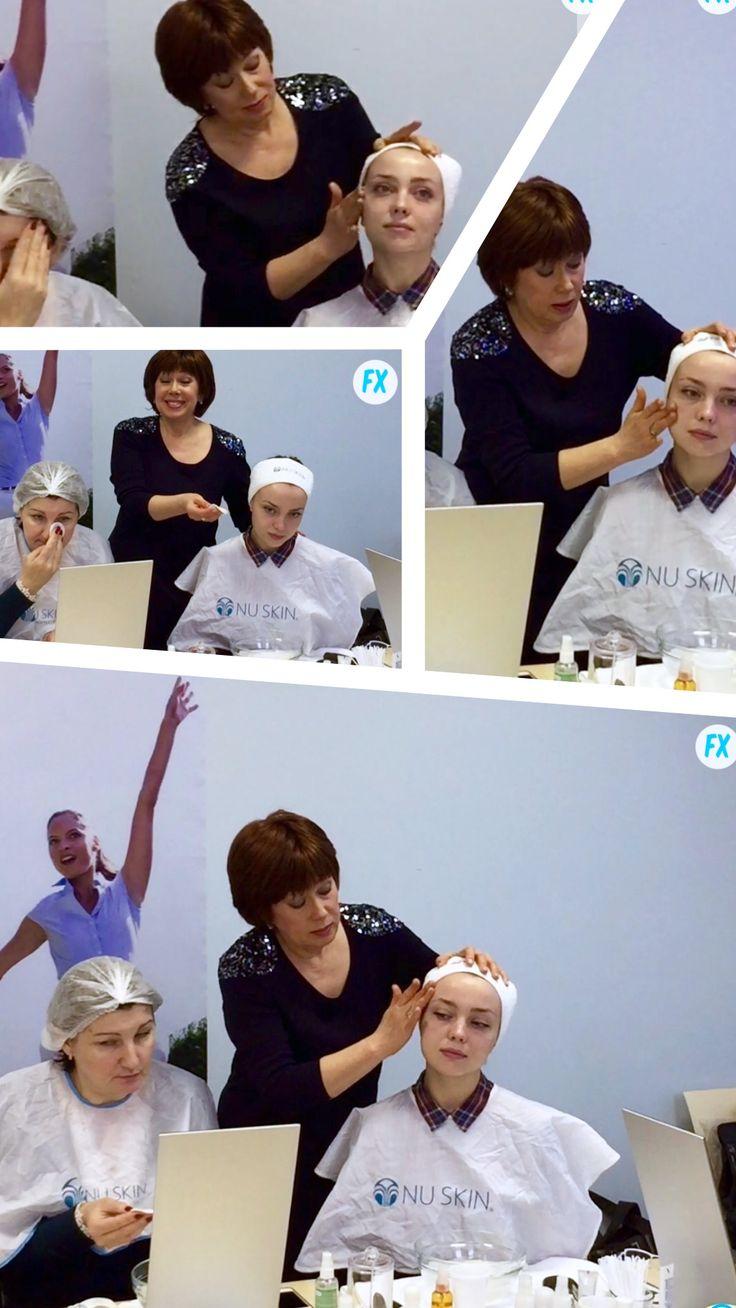 Мои обучающие мастер-классы в Московском Центре Nu Skin на Шаболовке.