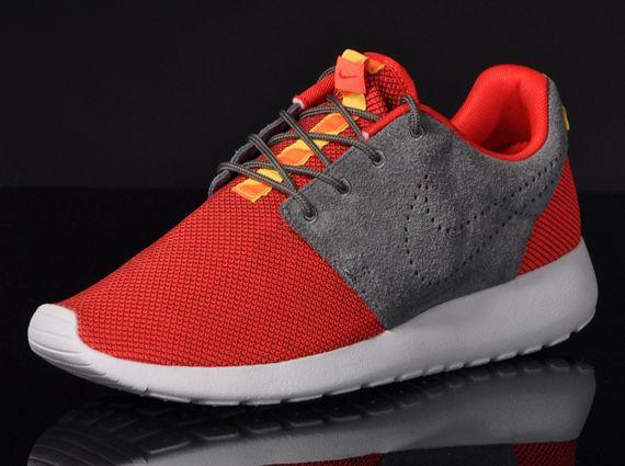vente sneakernews Nike Roshe Courir Hyperfuse Défi Cheveux Rouge / Noir vente 100% garanti Nal99Jw