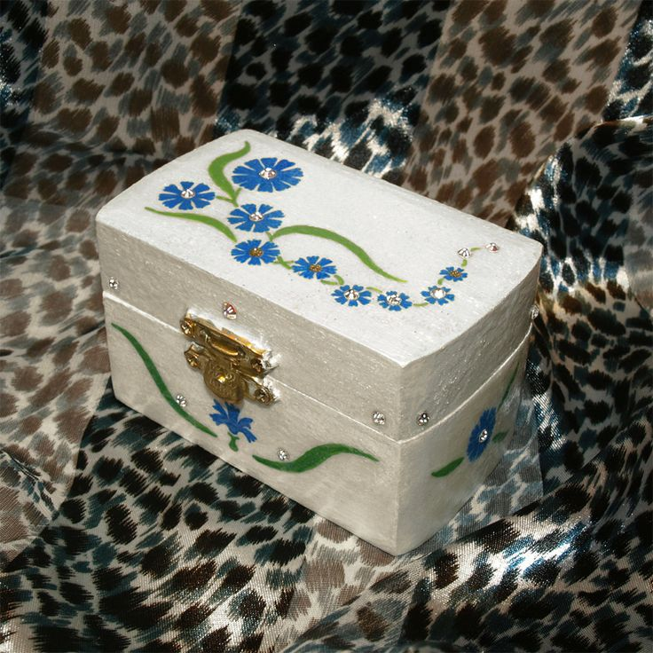 120 Best Images About Painted Box Ideas On Pinterest