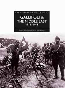 History of WWI: Gallipoli & The Middle East by Lieutenant Colonel Edward J. Erickson, Amber Books, provides a detailed guide to the background and conduct of World War I in all the theatres in which Ottoman forces were engaged.
