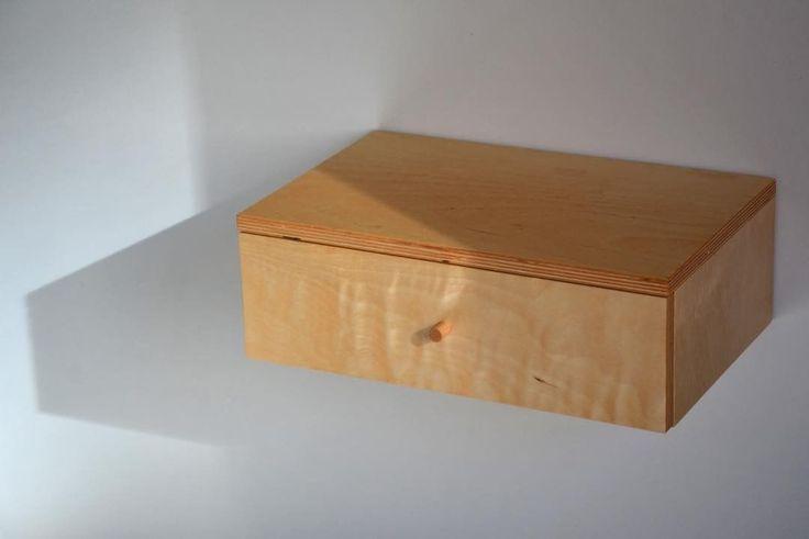 """13 kedvelés, 1 hozzászólás – MyBetterShelf (@mybettershelf) Instagram-hozzászólása: """"November sunlight on our fllating drawer, made of plywood www.mybettershelf.com #november #autumn…"""""""
