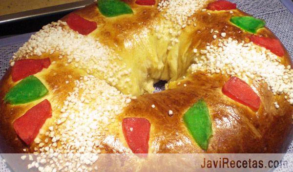 Un millón de gracias a todos los que os habéis animado a preparar el Roscón de Reyes con la receta del blog  http://www.javirecetas.com/roscon-de-reyes-receta/