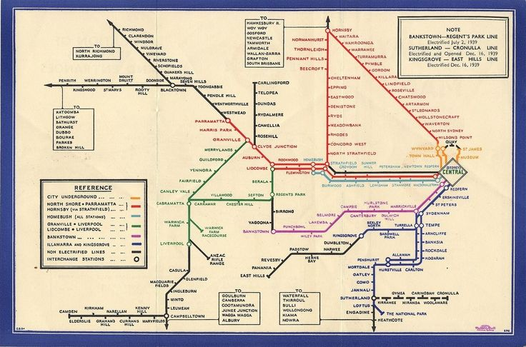 Harry Beck - London Subway map