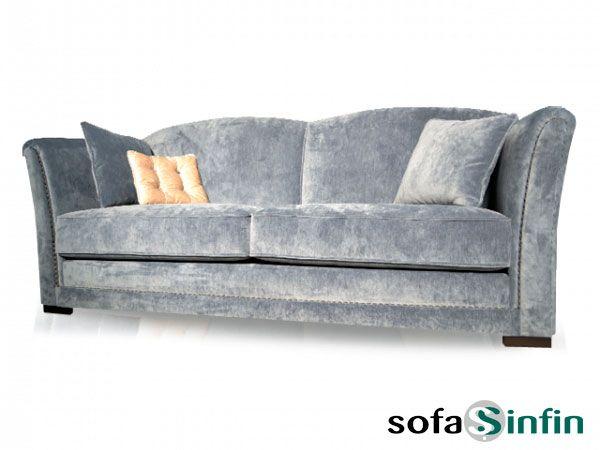 Sofá clásico de 3 y 2 plazas modelo Vint fabricado por De Paula en Sofassinfin.es
