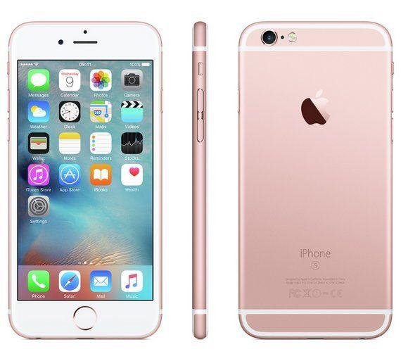 Sim Free Iphone 6s 32gb Mobile Phone Rose Gold Apple Iphone 6s Iphone Apple Iphone 6s Plus