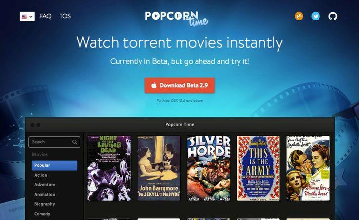 Popcorn Time, le cinéma à la maison - Les Blogueuses Du Web - #lbdw