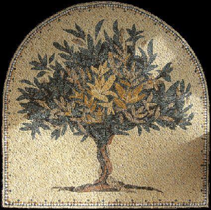 mosaics tree