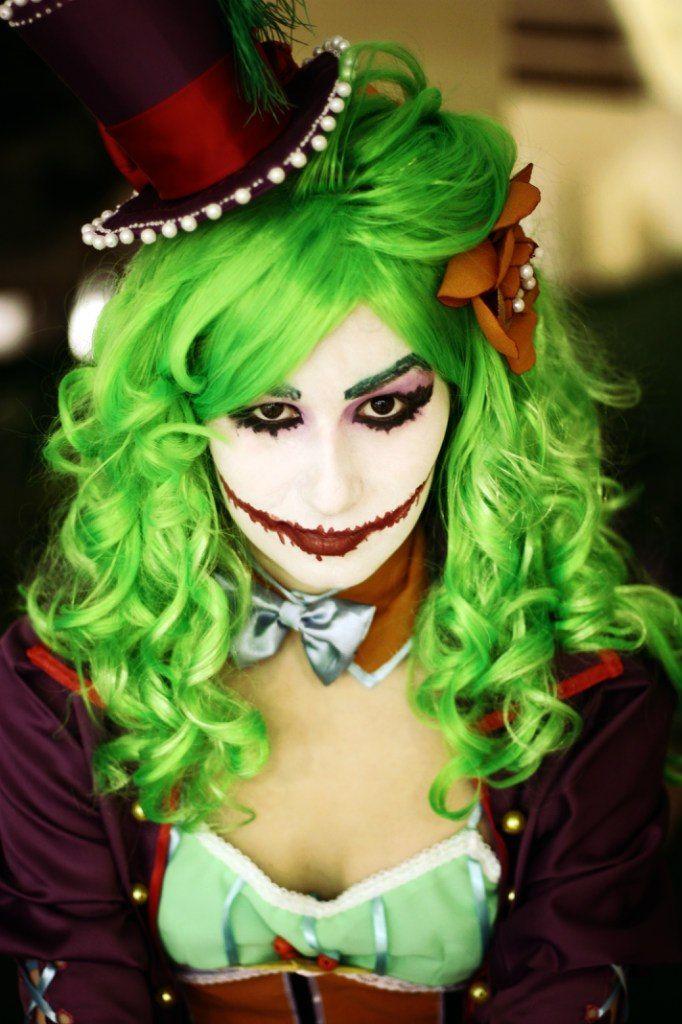 DC Comix Art NoFlutter Joker Niki Halloween face makeup