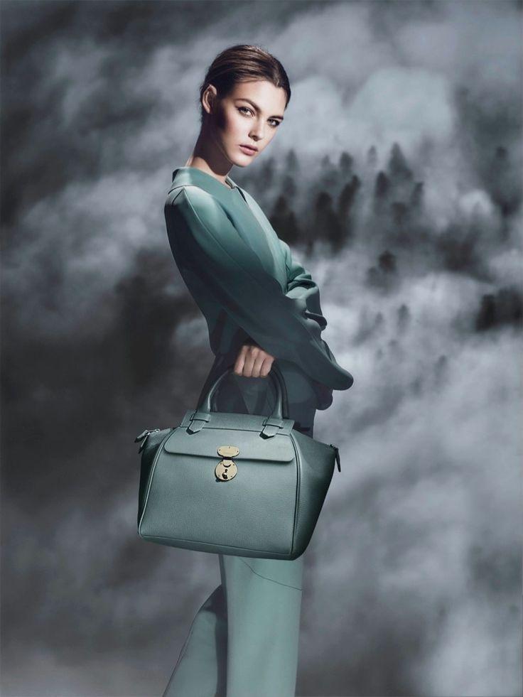 Vittoria Ceretti by Sølve Sundsbø for Giorgio Armani Fall / Winter 2015 Ad Campaign
