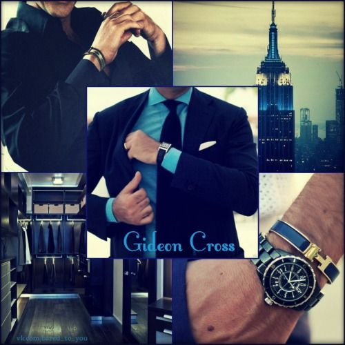 Crossfire series. Gideon Cross