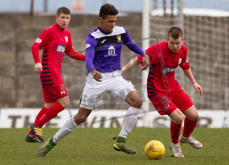 East Fife's Nathan Austin on the ball during the SPFL League Two game between East Fife and Queen's Park.