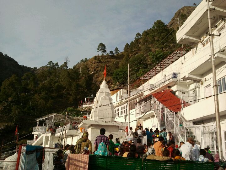 "Shri Mata Vaishno Devi Shrine in Jammu, Jammu and Kashmīr  In Hinduism, Vaishno Devi, also known as Mata Rani and Vaishnavi, is a manifestation of the Mother Goddess or Durga. The words ""maa"" and ""mata"" are commonly used in India for ""mother"", and thus are often used in connection with Vaishno Devi."