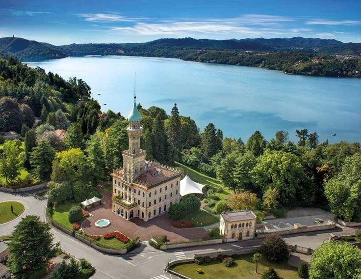 Villa Crespi for weddings on Lake Orta